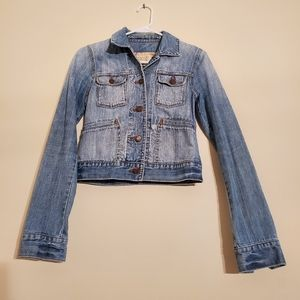 Abercrombie and Fitch Ladies blue denim jacket
